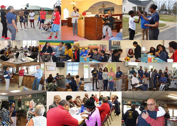 Collage from ALL Superintendent Listening Tours