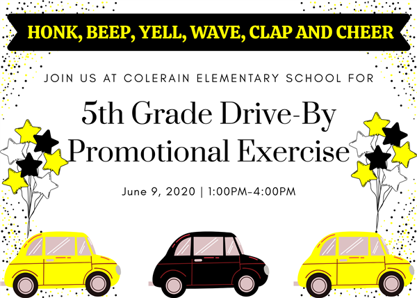 5th Grade Drive-By Promotion Exercise