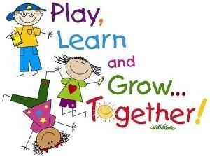 Play Learn and Grow Kids Clip Art