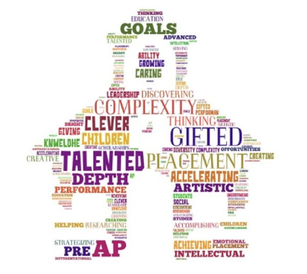 word art for gifted students