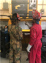 Welding Students