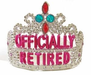 """Officially Retired"" tiara"