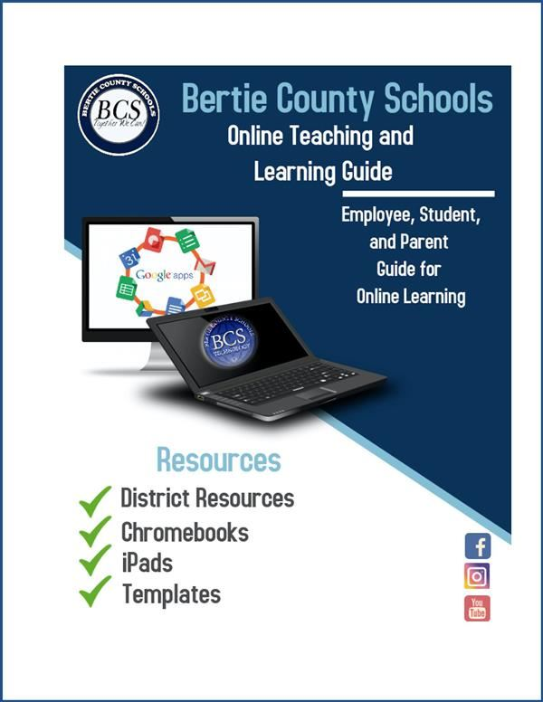Cover art for the BCS remote teaching and learning guidebook