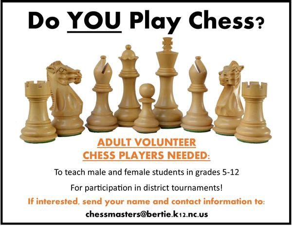 Do YOU Play Chess? Flyer Thumbnail