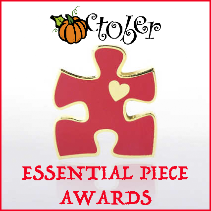 Essential Piece Award clipart for October