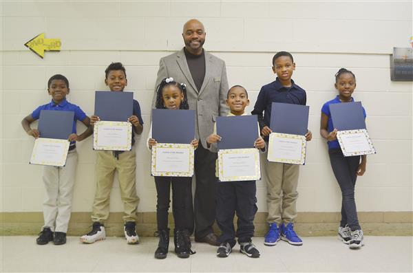 West Bertie Student Super Stars with Dr. Smallwood