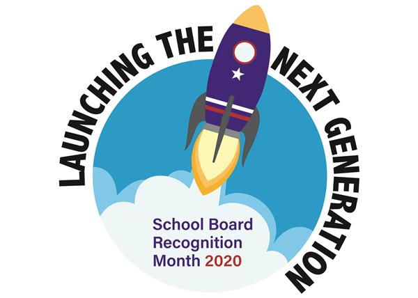 2020 school board recognition month logo