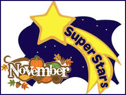 November Super Star art