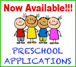 Now Available! Preschool Applications art with stick figure children