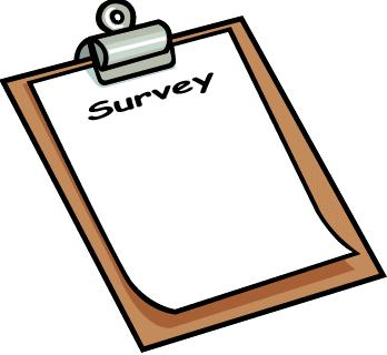 Survey clipboard clipart