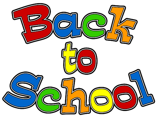 Back to School - Colorful word art